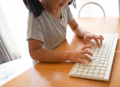 子供のパソコン